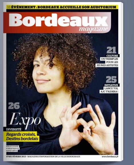 Couverture Bordeaux Magazine février 2013