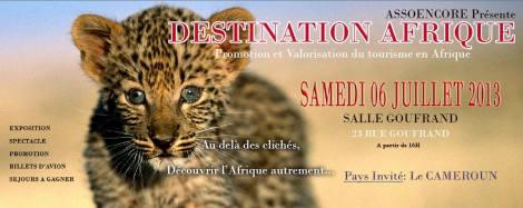 DESTINATION AFRIQUE
