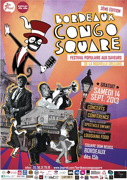 Festival Bordeaux Congo Square